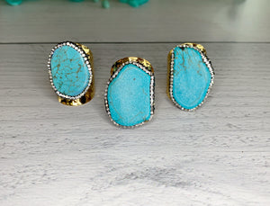 Premier Collection Turquoise Stone Ring
