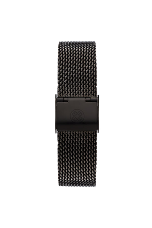 Eternal Black ~ Black Mesh women Watch