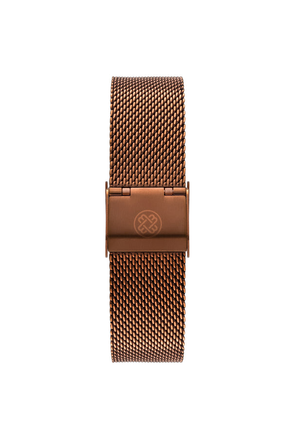 Coffee Passion ~ C.G Mesh women Watch