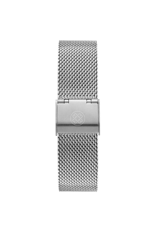 Silver/White ~ S. Mesh women Watch