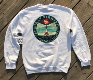 OBEY Awareness Crewneck Exclusive Fire Island New York Edition