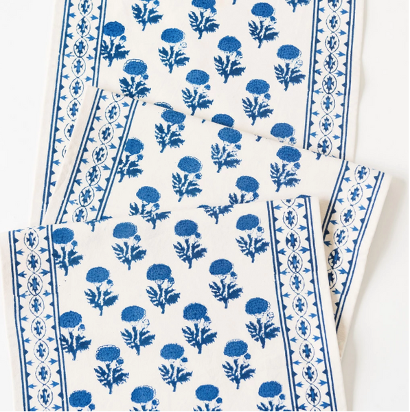 Gaya Cobalt Table Runner