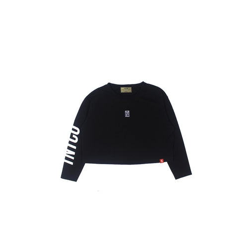 Outbreak Women L/S Cropped Top