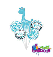 It's A Boy Giraffe Balloon Bouquet