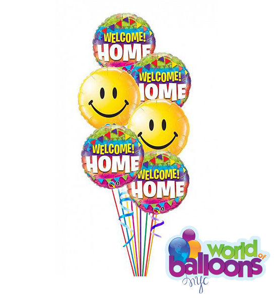 Welcome Home Balloon Bouquet