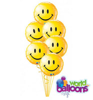 Happy Face Balloon Bouquet