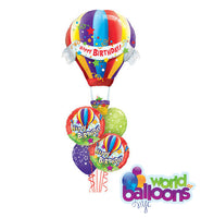 Happy Birthday Hot Air Balloon Bouquet