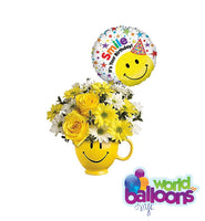 Smiley Bouquet Arrangement