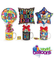 Candy Mug Balloon Gift