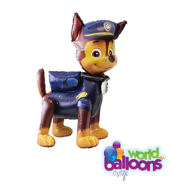 Paw Patrol Airwalker 54in Mylar Balloon with 2 Mylars