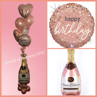 Celebration Balloons Jumbo Champagne Bottle