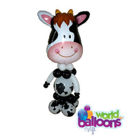 Cow Balloon Character