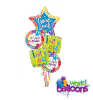 Good Luck-Miss You Balloon Bouquet