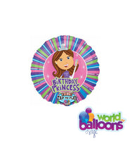 Singing Balloon Bouquet Birthday Princess