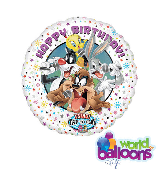 Singing Balloon Bouquet Looney Tunes
