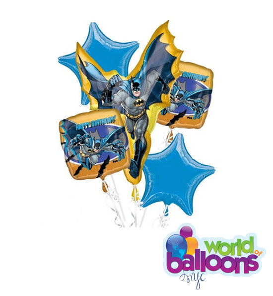 Batman Superhero Balloon Bouquet