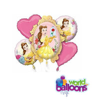 Beauty & The Beast Balloon Bouquet