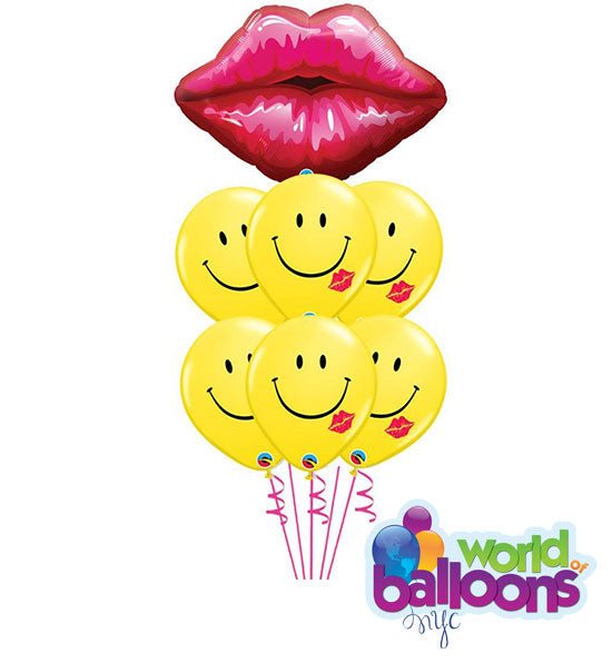 Big Smooch Balloon Bouquet