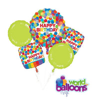Colorful Dots Balloon Bouquet