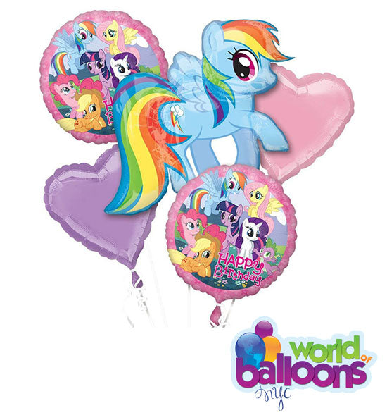 My Little Pony Balloon Bouquet