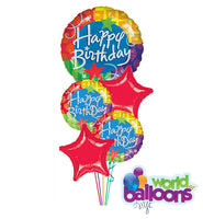 Jumbo Colorful Balloon Bouquet