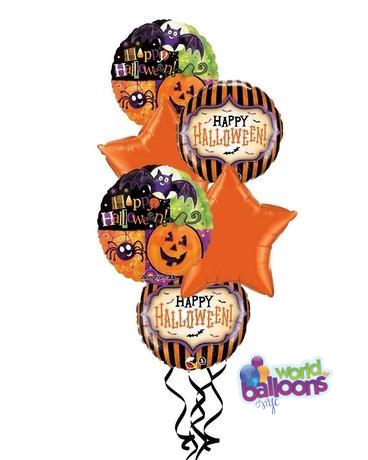 Halloween Balloon Bunch