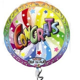 Congrats You Did It Singing Balloon Bouquet