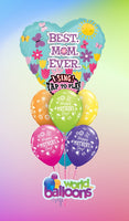 Mother's Day sign Balloon Bouquet