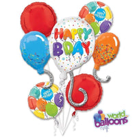 Fun Happy Birthday Balloon Bouquet