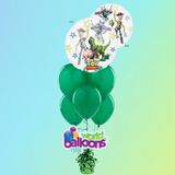 Toy Story Clear Jumbo Balloon Bouquet 7Pc