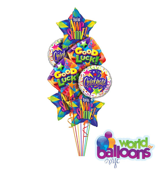 Good Luck Balloon Assortment