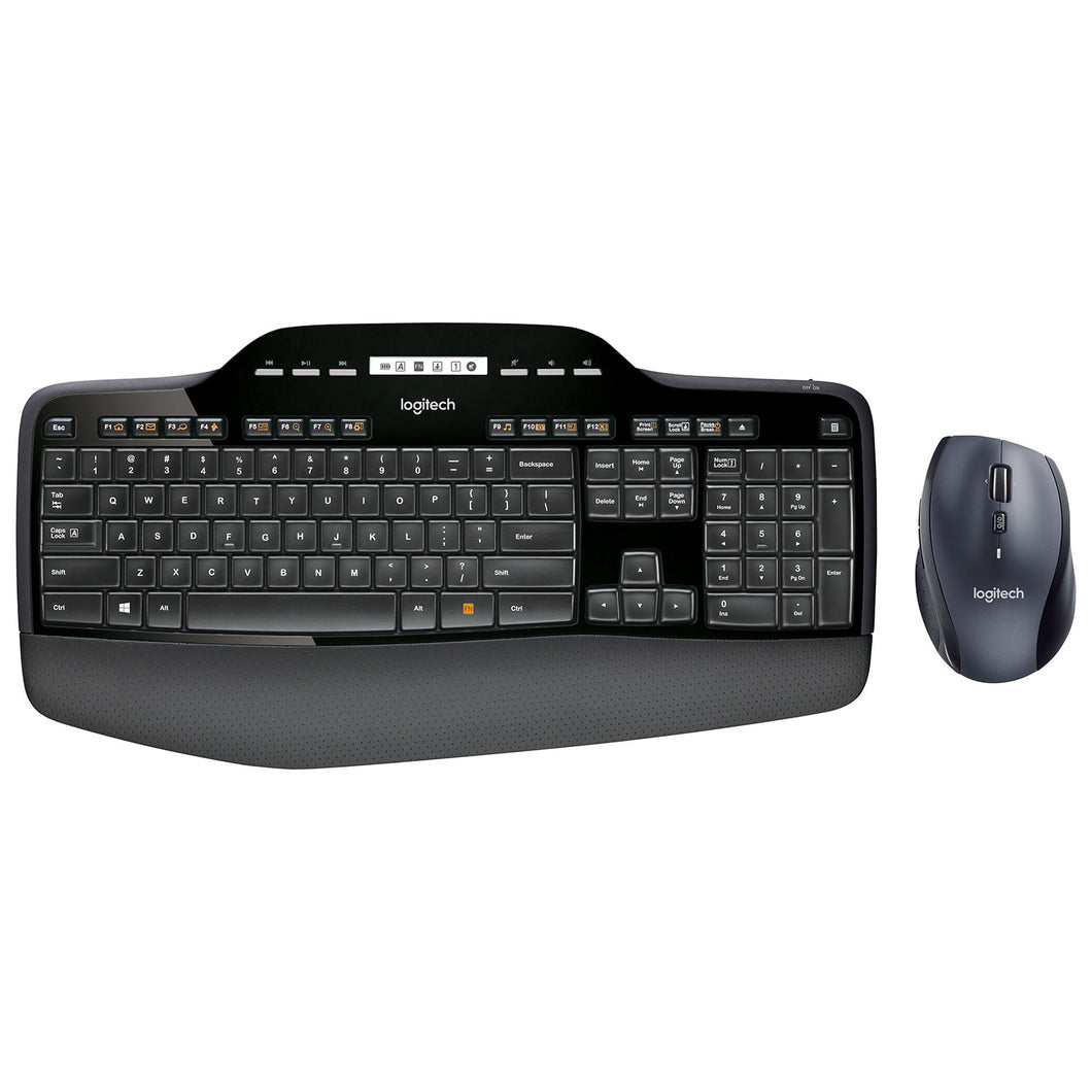 Logitech Wireless Desktop Mouse & Keyboard Combo (MK710) - Refurbished