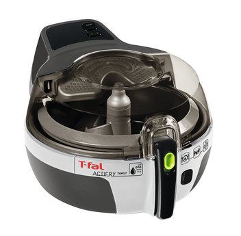 T-FAL Actifry Family 3.3 lbs (1.5 Kg) AW950B51 - Black, Blemished Packaging, 1 Year Full Warranty