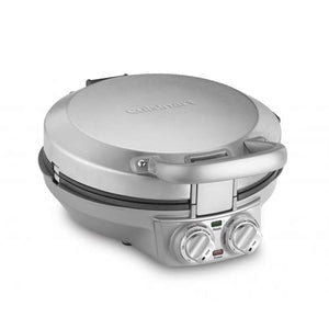 Cuisinart International Chef Crepe/Pizzelle/Pancake Plus, Stainless Steel (CPP-200) - Refurbished