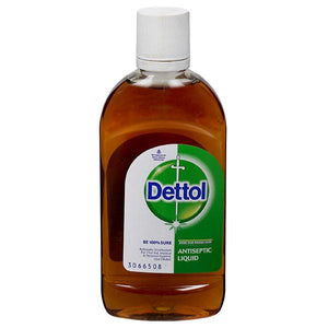 滴露Dettol Absolute Alcohol Antiseptic Liquid酒精消毒液125ml X 2 Bottles