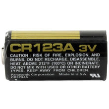 Panasonic CR123A 3 Volt Lithium Battery (CR17345)12 Pack