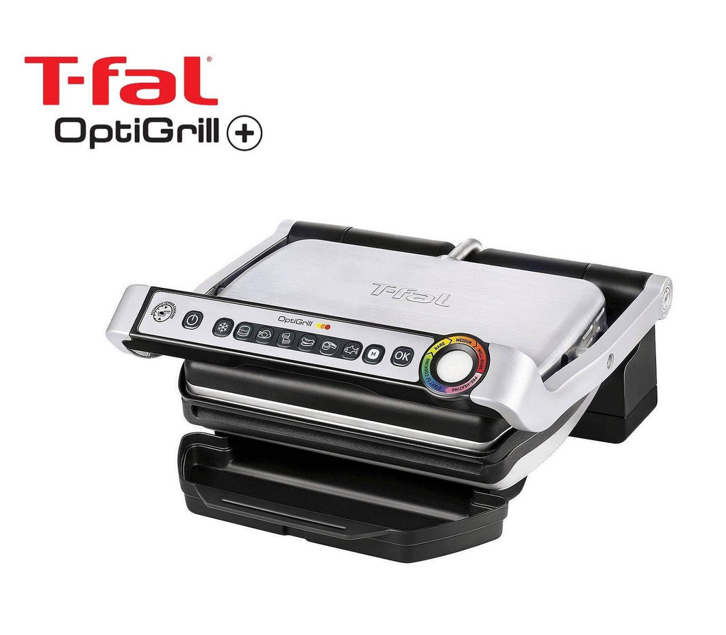 T-Fal GC712D54 Optigrill Plus - Open Box, 1 Year Direct Manufacturer Warranty