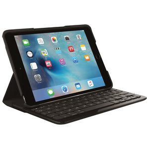 Logitech Focus iPad mini 4 Keyboard Case - Black - Open Box