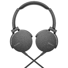 Sony On-Ear Headphones Extra Bass with Mic, Black (MDRXB550AP/B) – Refurbished