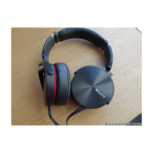 Sony Premium EXtra Bass Overhead Headphones, Black (MDR-XB950AP) - Refurbished