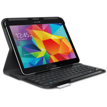 "Logitech Ultrathin Keyboard Folio for Samsung Galaxy Tablet 4 10.1"" ( 920-006386) - Carbon Black - Open Box"