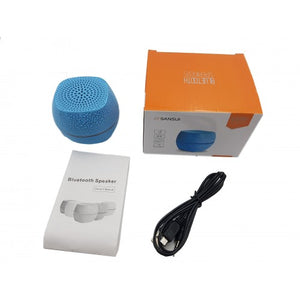 Toytexx A36 Mini Portable Bluetooth Speaker-Blue