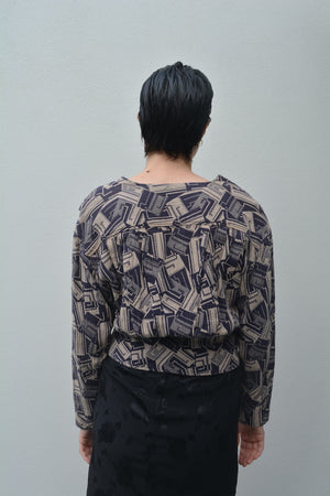Beautiful Purple Sea through Maxi Dress.