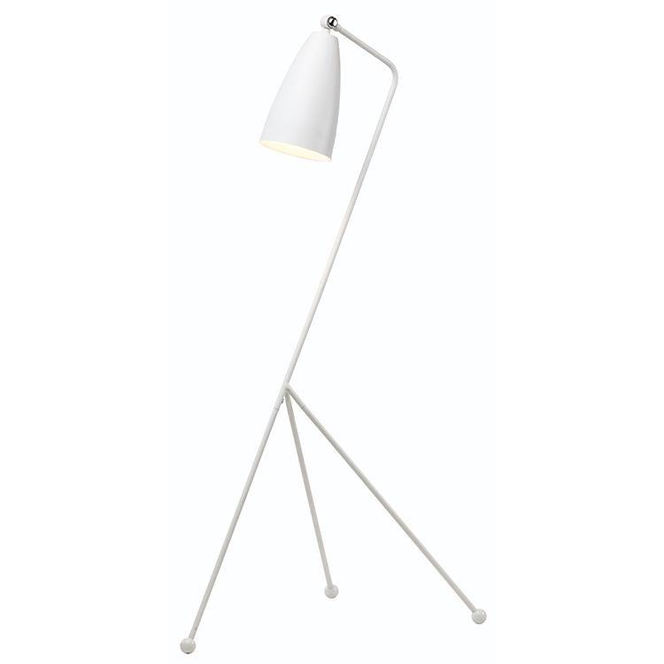LUCILLE FLOOR LIGHT - WHITE - Home Office Makeover