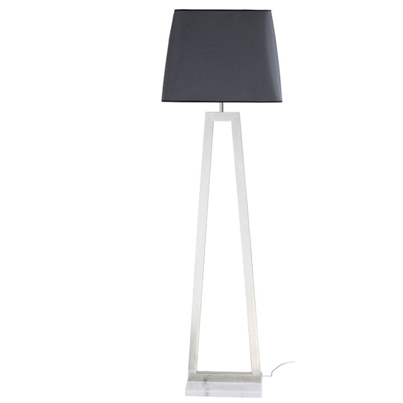 TRAPEZE FLOOR LIGHT - LIGHT GREY - Home Office Makeover