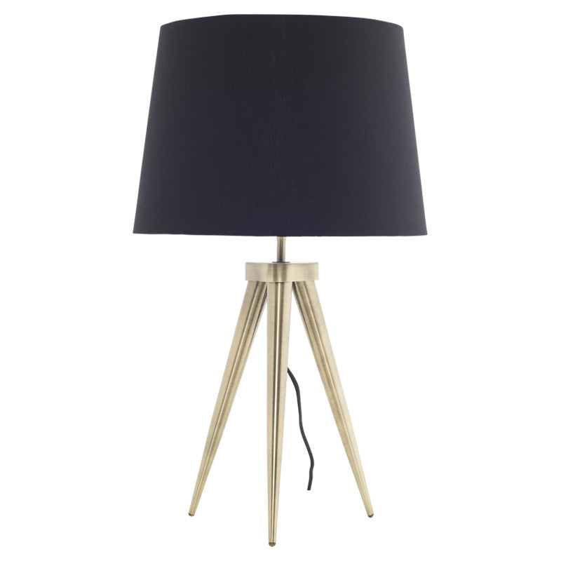 TRIAD TABLE LIGHT - BLACK - Home Office Makeover