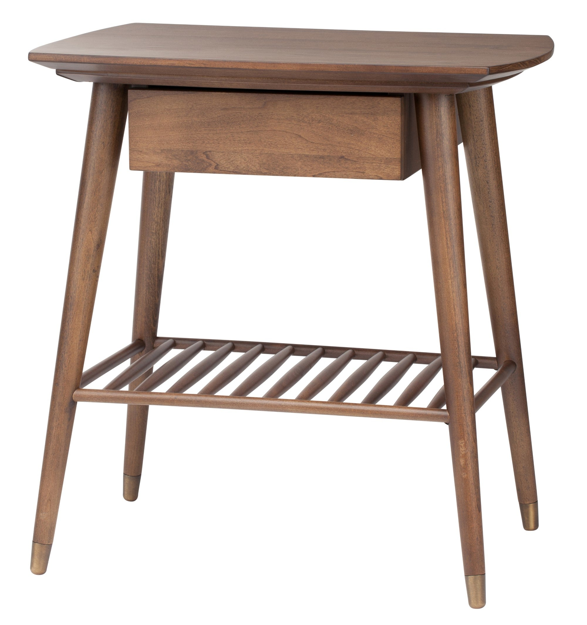 ARI SIDE TABLE - WALNUT - Home Office Makeover
