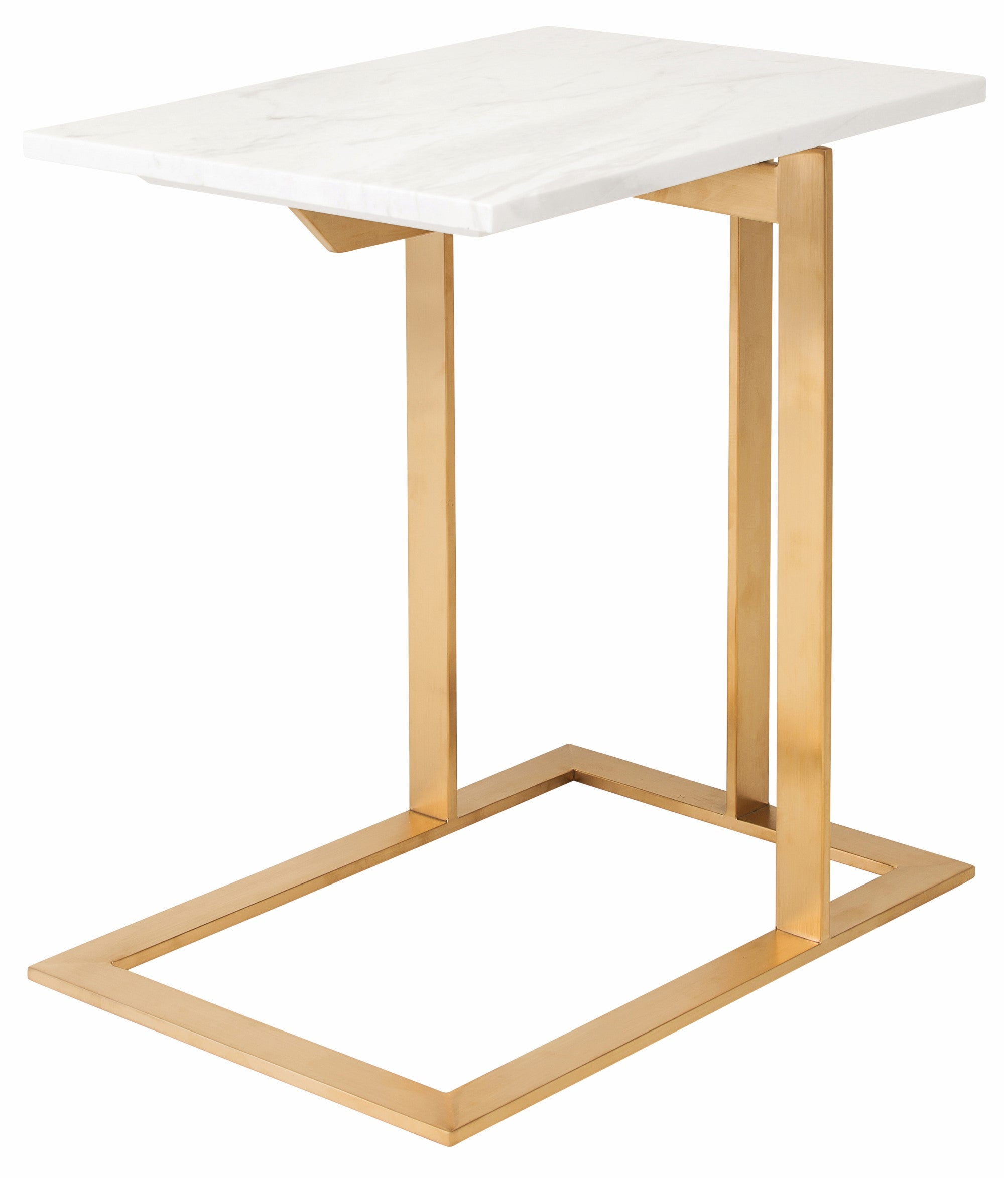 DELL SIDE TABLE - WHITE - Home Office Makeover