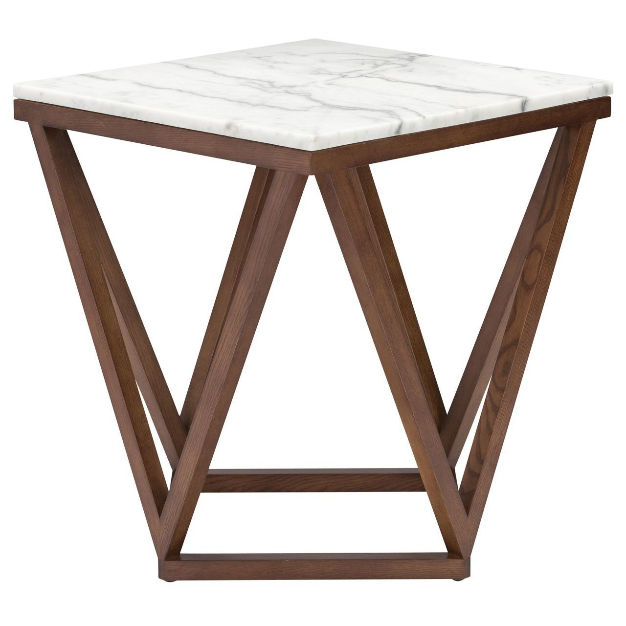 JASMINE SIDE TABLE - WHITE - Home Office Makeover