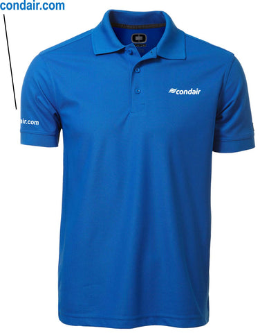 Men's Golf Shirt - Blue
